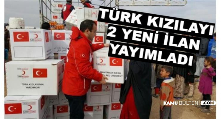 Kızılay 2 Kadroya KPSS'siz Türkiye Geneli Personel Alacak