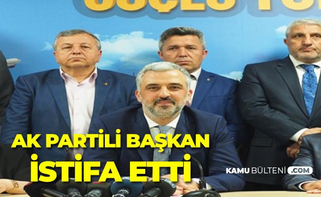 Kocaeli'de Flaş Gelişme! AK Partili Başkan Görevinden İstifa Etti