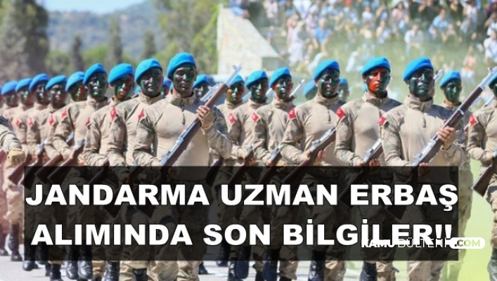 Jandarma 2019 Uzman Erbaş Alımında Son Durum