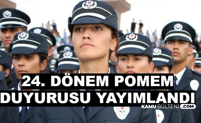 Polis Akademisi 24. Dönem POMEM Sınav Giriş Yerlerini Açıkladı