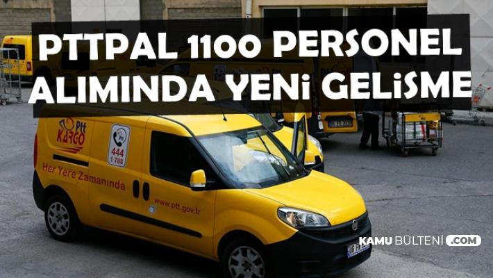PTTPAL 1100 Personel Alımında Sayı Düştü-Taşerondan Alınacak