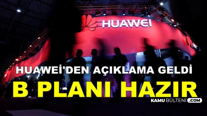 Huawei'den Açıklama Geldi: Andorid Yerine..