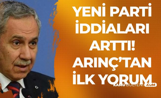 Bülent Arınç: Ali Babacan Lider Değil, Ahmet Davutoğlu Siyasi Figür