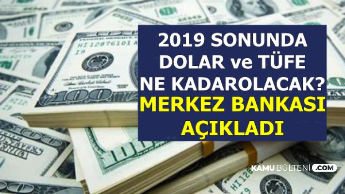 Dolar 2019 Sonunda Kaç TL Olacak? Merkez Bankası Açıkladı