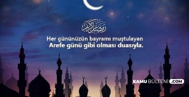 En Güzel SMS ve Resimli Ramazan Bayramı Arefe Günü Mesajları