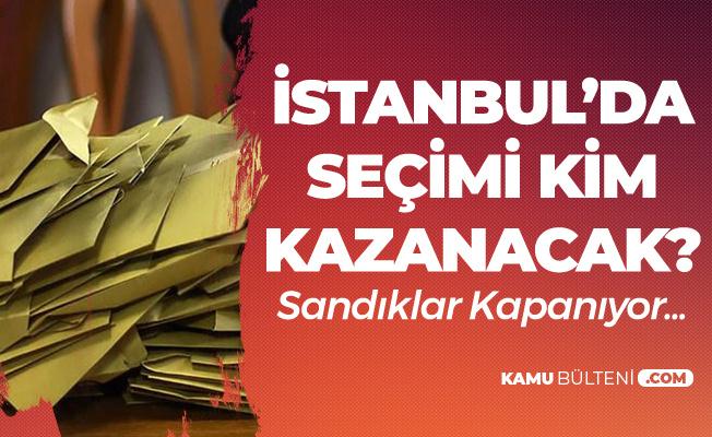 İBB Başkanlığı için Sandıklar Kapanıyor! 'İstanbul'da Seçimi Kim Kazandı?' Sorusu Yanıt Buluyor