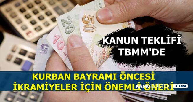 Kurban Bayramı Öncesi 1000 TL İkramiye ile İlgili Önemli Teklif TBMM'de