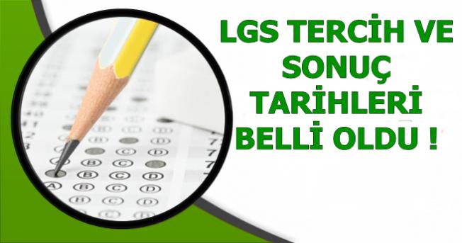 LGS Tercih ve Sonuç Tarihleri Açıklandı (E Okul Tercih Başvurusu)