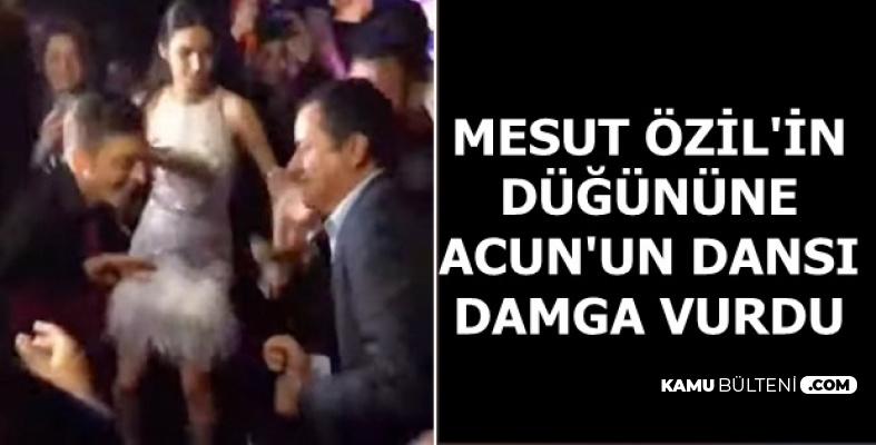 Mesut Özil-Amine Gülşe Düğününe Acun Ilıcalı'nın Dansı Damga Vurdu