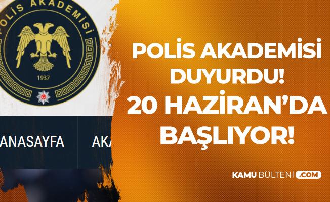 Polis Akademisi'nden Duyuru Geldi ! İlk Derece Amirlik Sınav Giriş Belgeleri Yayımlandı