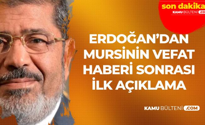 Son Dakika : Cumhurbaşkanı Erdoğan'dan Muhammed Mursi'nin Ölümü Sonrası İlk Açıklamalar