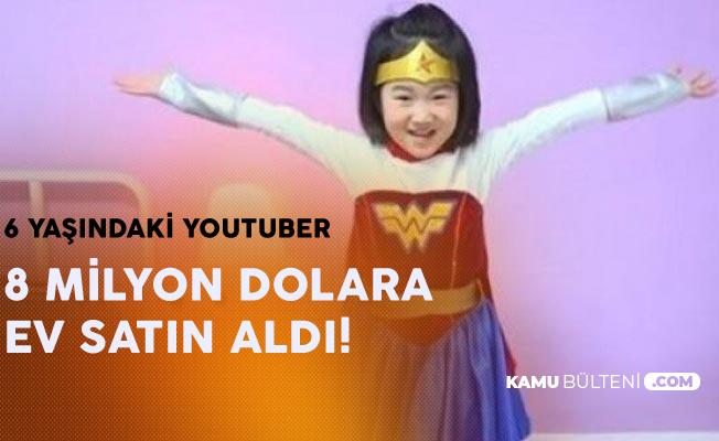 6 Yaşındaki Youtuber Kız Çocuğu 8 Milyon Dolarlık Mülk Aldı