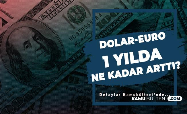 ABD Dolarının 1 Yıllık Değişimi! Temmuz Ayı Güncel Dolar, EURO Fiyatları