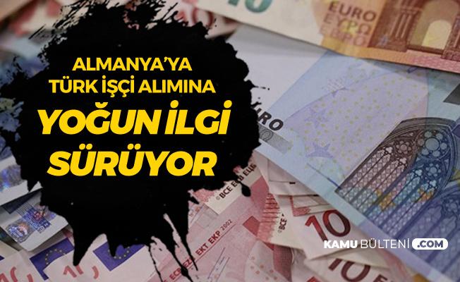 Almanya'ya Türk İşçi Alımı için Bekleyiş Sürüyor