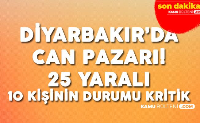 Diyarbakır'da Korkunç Kaza: 25 Kişi Yaralandı