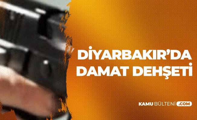 Diyarbakır Kayapınar'da Damat Dehşeti ! 1 Ölü, 1 Yaralı