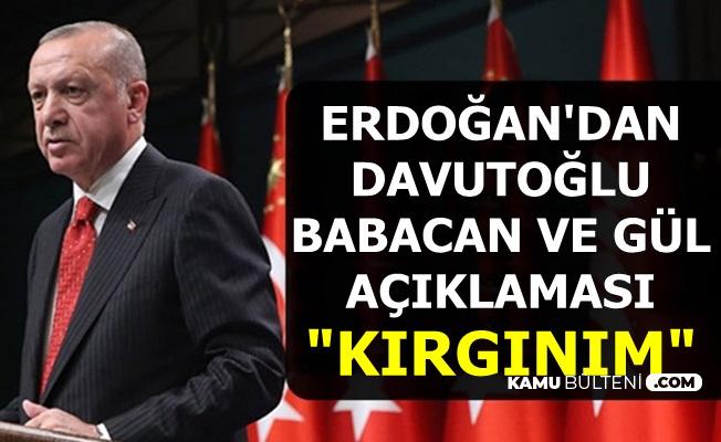 Erdoğan'ın Ali Babacan-Ahmet Davutoğlu-Abdullah Gül'e Karşı Tutumu