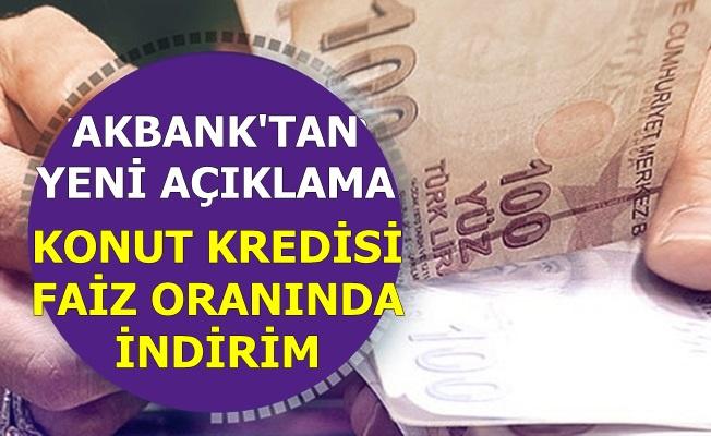 Akbank 60 ve 120 Ay Vadede Konut Kredisi Faizini Düşürdü-İşte Kredi Hesaplaması