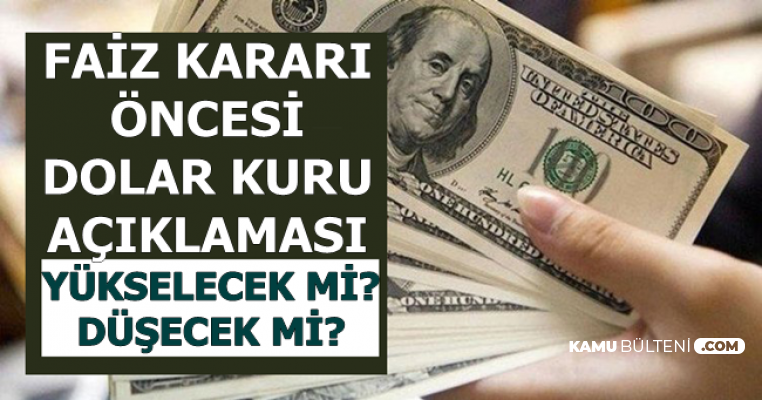 Flaş Dolar Tahmini: TCMB'nin Faiz İndirimi Fazla Olursa..