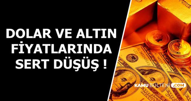 Flaş: Dolar ve Altında Sert Düşüş-İşte 26 Temmuz Güncel Döviz Kuru-Gram-Çeyrek Altın Fiyatları