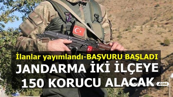 Jandarma'ya 150 Korucu Alımı-JÖH-Uzman Erbaş Olma Şansı