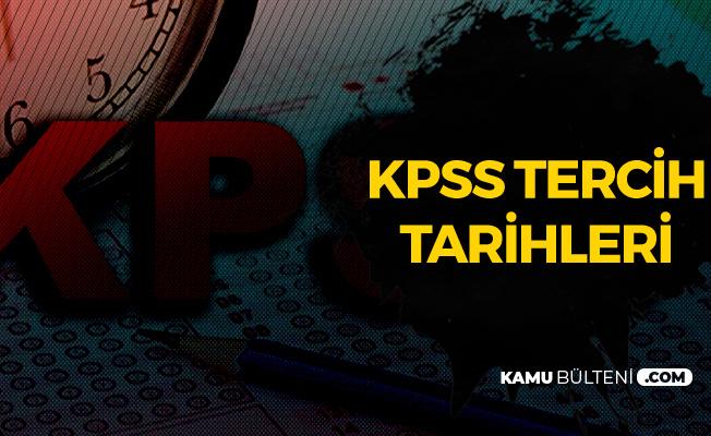 KPSS Tercihleri 18 Temmuz'da Sona Erecek