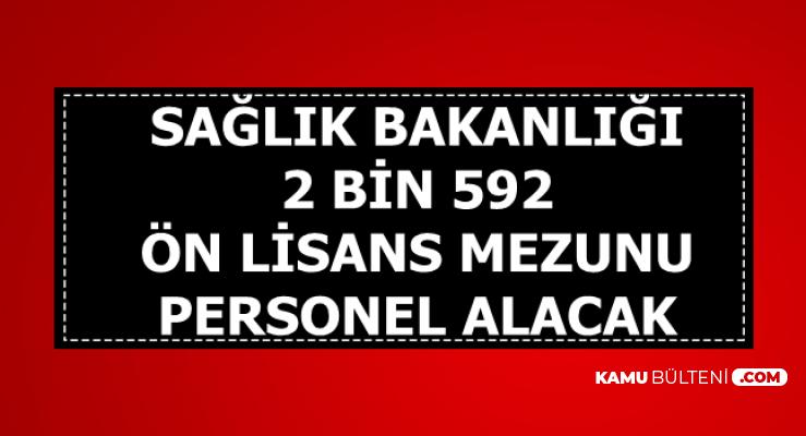 KPSS Tercihleri ile 21 Kadroya Ön Lisans Mezunu 2 Bin 592 Personel Alımı Yapacak