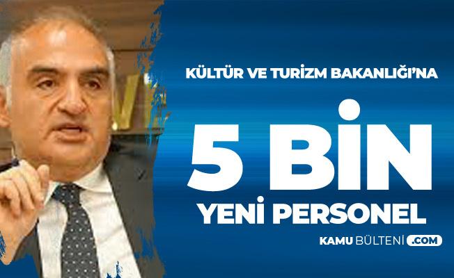 Kültür ve Turizm Bakanı Canlı Yayında Açıkladı: 5Bin Personel Alımı Yapılacak