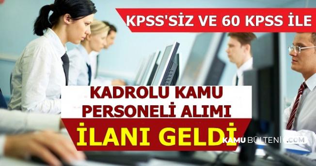Kültür ve Turizm Bakanlığı KPSS'siz ve Düşük KPSS ile Kadrolu Yeni İlan Yayımladı