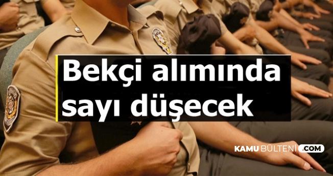 Polis Akademisi Bekçi Alımında Sayı Azalacak