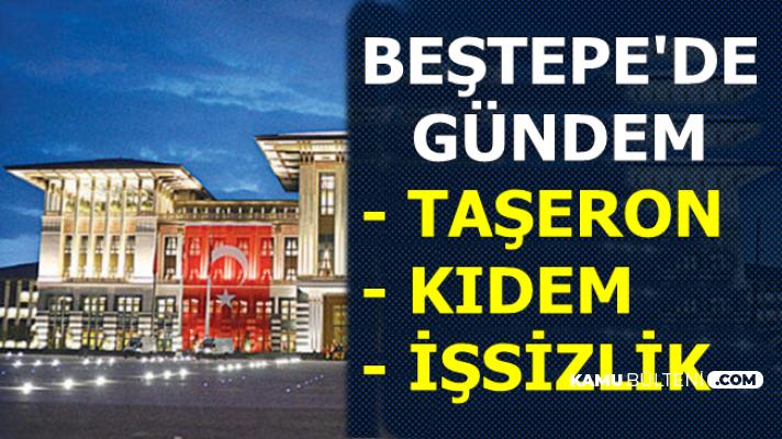 Rapor Hazırlandı: Taşeron, Kıdem Tazminatı ve İşsizlik Cumhurbaşkanlığı'nda