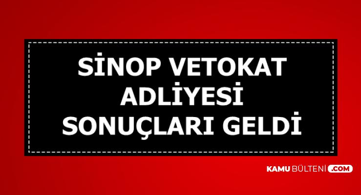 Sinop ve Tokat Adliyesi Personel Alımı Sonuçları Açıklandı