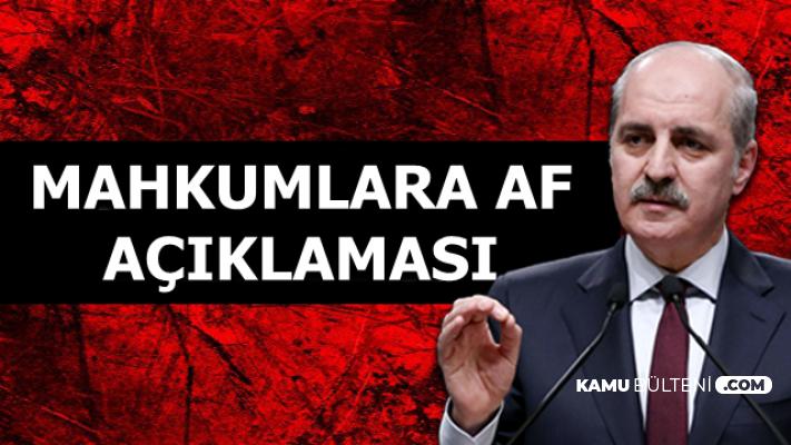 Son Dakika: AK Parti'den Canlı Yayında Mahkum Affı Açıklaması
