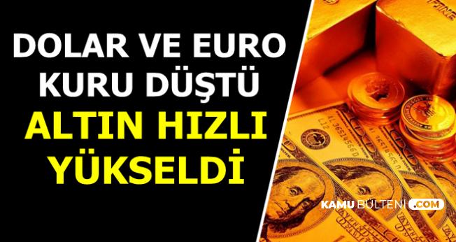 Son Dakika: Dolar ile Euro Kuru Düştü Altın Fiyatları Hızlı Yükseldi