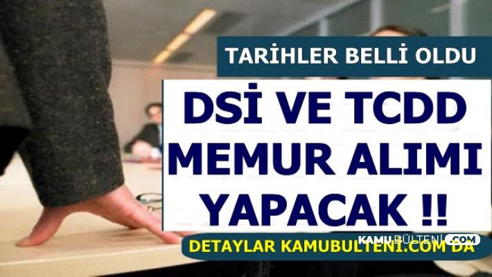TCDD ve DSİ Mülakatsız Memur Alacak-İşte KPSS 2019/1 Tercih Tarihi