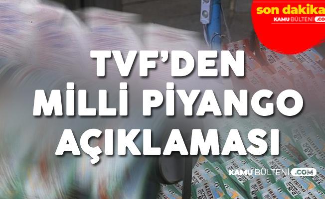 Türkiye Varlık Fonu'ndan 'Milli Piyango' Açıklaması: Değerlendirme Sürüyor
