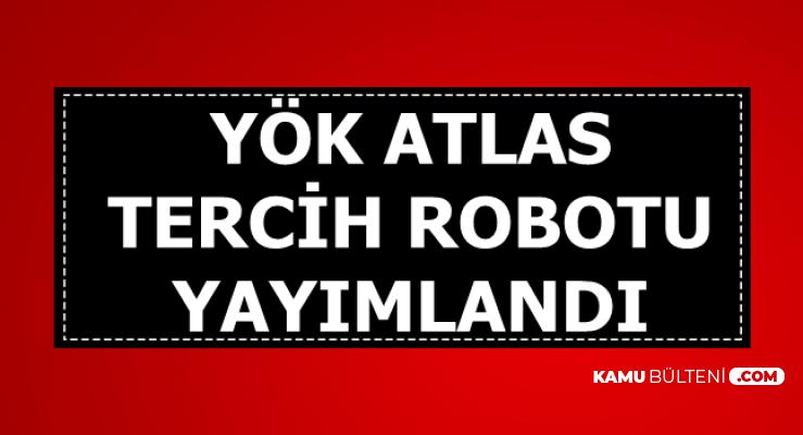 2019 YKS YÖK Atlas Tercih Robotu