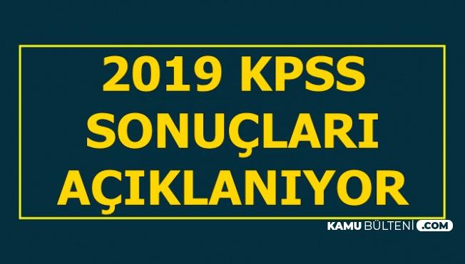 2019 KPSS Sınav Sonuçları Açıklanıyor-Sonuc.osym
