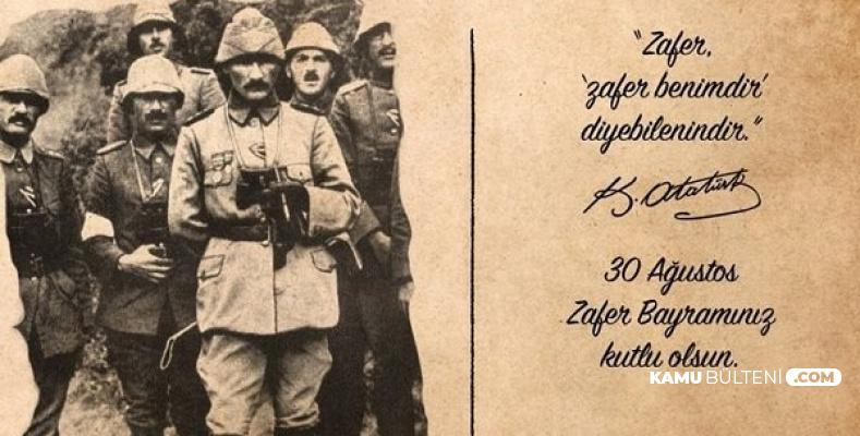 30 Ağustos Zafer Bayramı En Güzel Resimleri Sözleri ve Atatürk Resimleri
