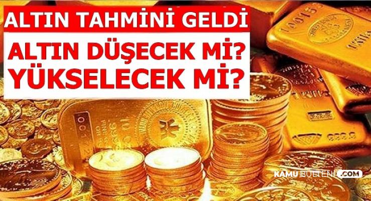 Altın Fiyatları Tahmini Yayımlandı