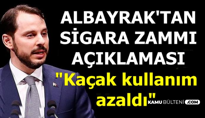 Berat Albayrak'tan Sigara Zammı ve Fiyatları Açıklaması