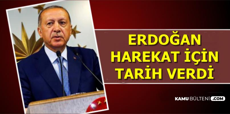 Cumhurbaşkanı Erdoğan Bayram Mesajı Yayımladı: Harekat İçin Tarih Verdi