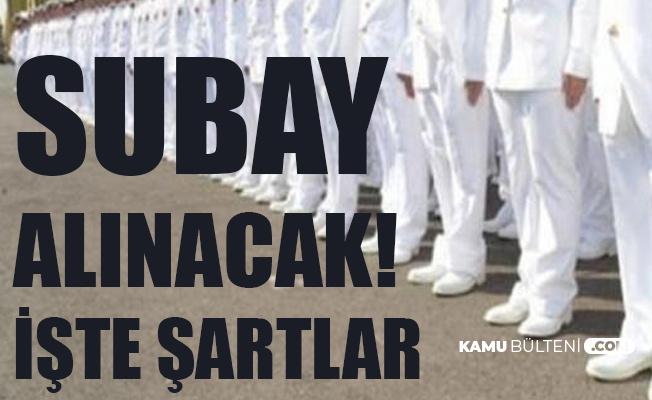 Deniz Kuvvetleri Komutanlığı'na Subay Alımı Yapılacak! Başvurular 25 Ağustos'ta Sona Erecek