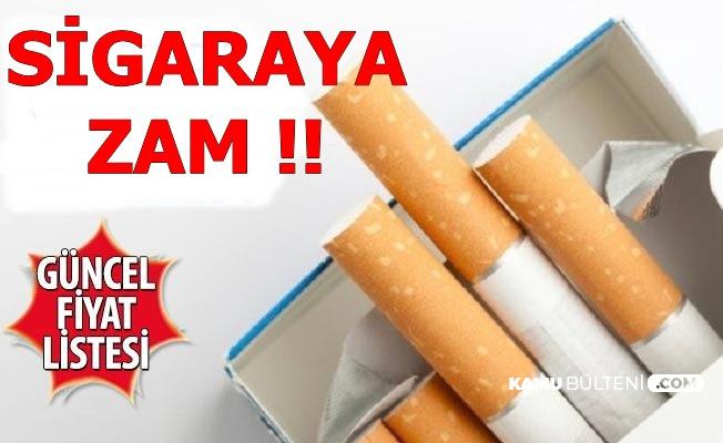 İşte Sigara Zammı