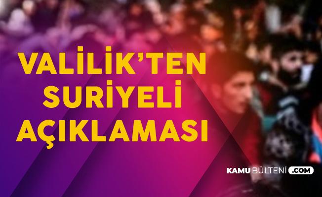 İstanbul Valiliği'nden Kaçak Göçmen Açıklaması: 12 Bin 474 Kaçak Toplama Merkezine Gönderildi