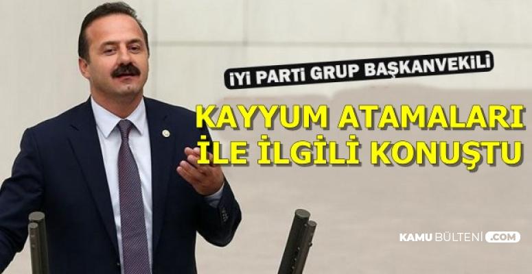 İYİ Parti'den Kayyum Atamaları Açıklaması