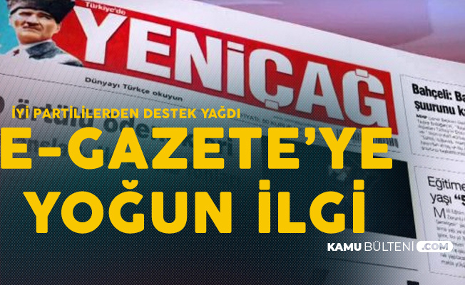 İYİ Partililerden Yeniçağ E-Gazete'ye Yoğun İlgi