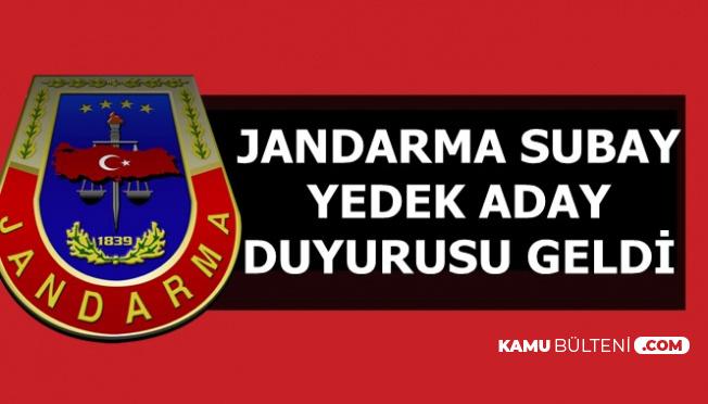 Jandarma'dan Kadın-Erkek Subay Yedek Aday Alımı Duyurusu