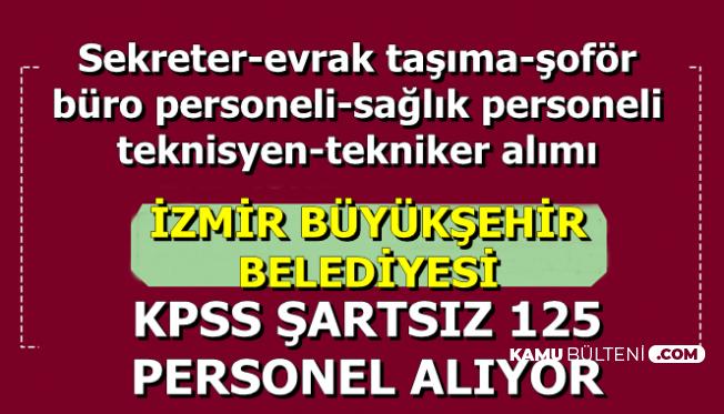 Kamuya KPSS Şartsız 125 Sekreter, Büro Memuru ve Personel Alımı
