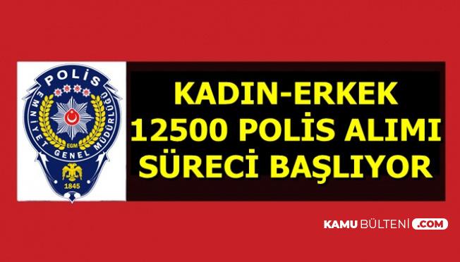 Polis Akademisi 12500 Polis Alımında Süreç Başlıyor-En Az Lise 2019